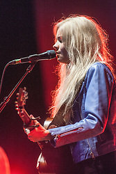 Nina Nesbit, the Scottish singer-songwriter and guitarist, performs on stage tonight at Edinburgh's Usher Hall.