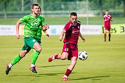 DavidTijanic of NK Triglav Kranj during football match between NK Triglav Kranj and NK Krskoi in Round #29 of Prva Liga Telekom Slovenije 2017/18, on May 2, 2018 in Sports park Kranj, Kranj, Slovenia. Photo by Ziga Zupan / Sportida