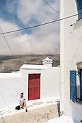 Greece, Kyklades, Amorgos, Chora