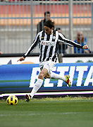 ITALY, Lecce : Matri J.during the Serie A match between Lecce and Juventus at Stadio Via del Mare in Lecce on February 20, 2011. .AFP PHOTO / GIOVANNI MARINO