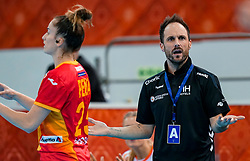 15-12-2019 JAP: Final Netherlands - Spain, Kumamoto<br /> The Netherlands beat Spain in the final and take historic gold in Park Dome at 24th IHF Women's Handball World Championship / Bondscoach Emmanuel Mayonnade of Netherlands