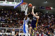 DESCRIZIONE : Capo dOrlando Lega A 2015-16 Betaland Capo d Orlando Manital Auxilium Cus Torino<br /> GIOCATORE : Alex Oriakhi Chris Goulding<br /> CATEGORIA : Schiacciata Fallo<br /> SQUADRA : Orlandina Basket<br /> EVENTO : Campionato Lega A Beko 2015-2016 <br /> GARA : Betaland Capo d Orlando Manital Auxilium Cus Torino<br /> DATA : 13/03/2016<br /> SPORT : Pallacanestro <br /> AUTORE : Agenzia Ciamillo-Castoria/G.Pappalardo<br /> Galleria : Lega Basket A 2015-2016<br /> Fotonotizia : Capo dOrlando Lega A 2015-16 Betaland Capo d Orlando Manital Auxilium Cus Torino