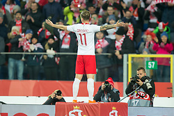 March 27, 2018 - Chorzow, Poland - Kamil Grosicki of Poland  during the international friendly soccer match between Poland and South Korea national football teams, at the Silesian Stadium in Chorzow, Poland on 27 March 2018. (Credit Image: © Foto Olimpik/NurPhoto via ZUMA Press)