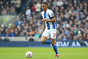 Brighton and Hove Albion defender Bernardo Fernandes da Silva Junior (30) during the The FA Cup 5th round match between Brighton and Hove Albion and Derby County at the American Express Community Stadium, Brighton and Hove, England on 16 February 2019.
