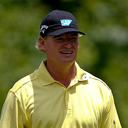 Apr 29, 2012; Avondale, LA, USA; Ernie Els on the second hole during the final round of the Zurich Classic of New Orleans at TPC Louisiana. Mandatory Credit: Derick E. Hingle-US PRESSWIRE