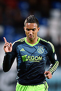 Onderwerp/Subject: Eredivisie<br /> Reklame:  <br /> Club/Team/Country: <br /> Seizoen/Season: 2012/2013<br /> FOTO/PHOTO: Danny HOESEN of Ajax celebrating his goal ( 0 - 2 ). (Photo by PICS UNITED)<br /> <br /> Trefwoorden/Keywords: <br /> #02 #09 $94 ±1342782825903<br /> Photo- & Copyrights © PICS UNITED <br /> P.O. Box 7164 - 5605 BE  EINDHOVEN (THE NETHERLANDS) <br /> Phone +31 (0)40 296 28 00 <br /> Fax +31 (0) 40 248 47 43 <br /> http://www.pics-united.com <br /> e-mail : sales@pics-united.com (If you would like to raise any issues regarding any aspects of products / service of PICS UNITED) or <br /> e-mail : sales@pics-united.com   <br /> <br /> ATTENTIE: <br /> Publicatie ook bij aanbieding door derden is slechts toegestaan na verkregen toestemming van Pics United. <br /> VOLLEDIGE NAAMSVERMELDING IS VERPLICHT! (© PICS UNITED/Naam Fotograaf, zie veld 4 van de bestandsinfo 'credits') <br /> ATTENTION:  <br /> © Pics United. Reproduction/publication of this photo by any parties is only permitted after authorisation is sought and obtained from  PICS UNITED- THE NETHERLANDS