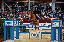 SCHOBER Philipp (GER), Guesssina<br /> Neustadt-Dosse - 20. CSI Neustadt-Dosse 2020<br /> Preis der Deutschen Kreditbank AG<br /> Championat - Large Tour<br /> Int. Springprüfung mit 2 Umläufen<br /> 11.Januar 2020<br /> © www.sportfotos-lafrentz.de/Stefan Lafrentz