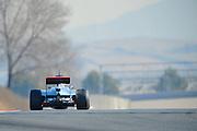 Jenson Button (GBR) drives the Vodafone Mclaren Mercedes MP4-27  Formula One Testing, Circuit de Catalunya, Barcelona, Spain, World Copyright: Jamey Price