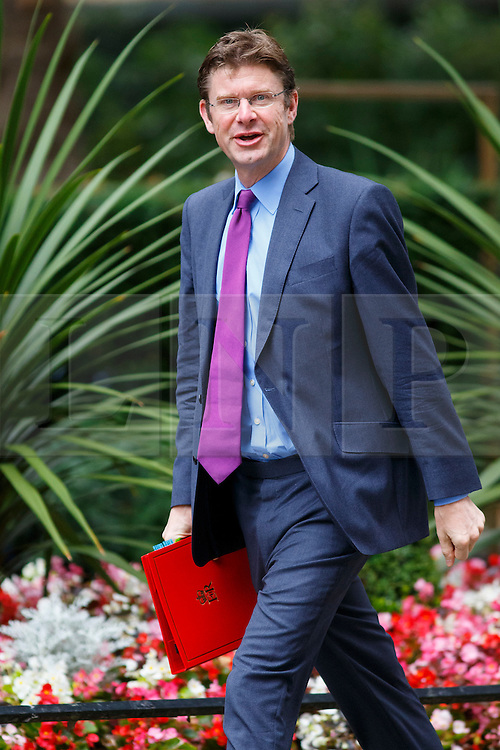 © Licensed to London News Pictures. 14/07/2015. London, UK. Communities and Local Government Secretary, Greg Clark attending to a cabinet meeting in Downing Street on Tuesday, July 14, 2015. Photo credit: Tolga Akmen/LNP