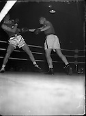 1956 International Boxing - Ireland vs Wales