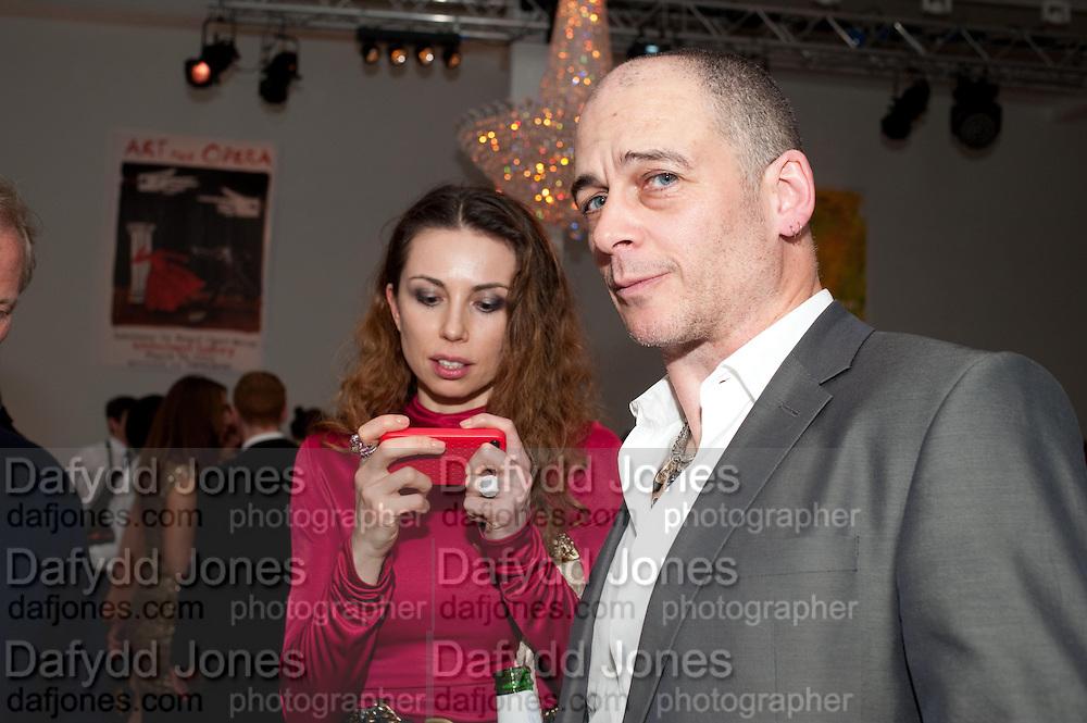 MALGOSIA STEPNIK; DINOS CHAPMAN, Swarovski Whitechapel Gallery Art Plus Opera,  An evening of art and opera raising funds for the Whitechapel Education programme. Whitechapel Gallery. 77-82 Whitechapel High St. London E1 3BQ. 15 March 2012