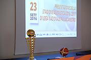 Coppa<br /> Presentazione Campionato 2016-2017<br /> Campionato Basket LNP 2016/2017<br /> Bologna 23/09/2016<br /> Foto Ciamillo-Castoria