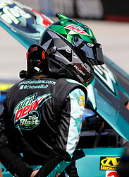 April 13, 2018 - Bristol, TN, U.S. - BRISTOL, TN - APRIL 13: #9: Chase Elliott, Hendrick Motorsports, Chevrolet Camaro Mountain Dew Baja Blast during practice for the 58th annual Food City 500 on April 13, 2018 at Bristol Motor Speedway in Bristol, Tennessee (Photo by Jeff Robinson/Icon Sportswire) (Credit Image: © Jeff Robinson/Icon SMI via ZUMA Press)