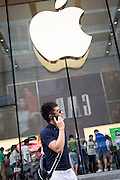 Apple store on Nanjing East Road in Shanghai, China.