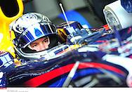 Grand prix de Bahraïn 2010..Circuit de shakir. 12 mars 2010..Premiere séance d'essai...Photo Stéphane Mantey/ L'Equipe. *** Local Caption *** vettel (sebastian) - (ger) -