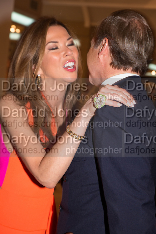 HUGH MORRISON;; HEATHER KERZNER Masterpiece Midsummer Party in aid of Marie Curie hosted by Heather Kerzner. Chelsea Hospital. London. 2 July 2013.