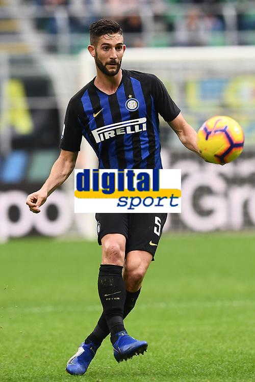 Roberto Gagliardini<br /> Milano 03-11-2018 Stadio San Siro Football Calcio Serie A 2018/2019 FC Internazionale - Genoa Foto Matteo Gribaudi / Image Sport / Insidefoto