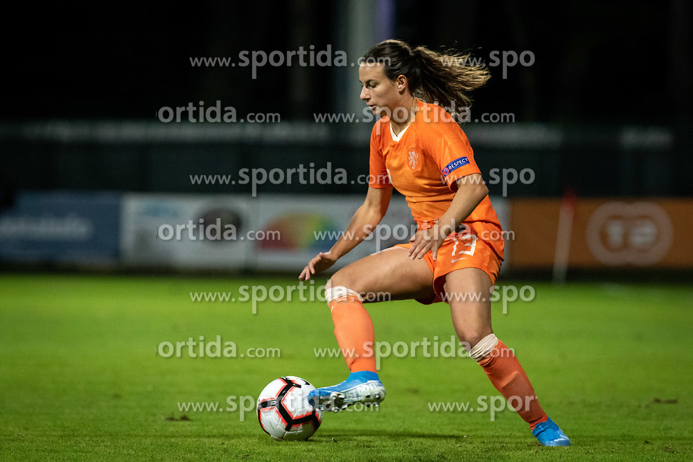Renate Jansen of Nederland  during football match between Slovenia and Nederland in qualifying Round of Woman's qualifying for EURO 2021, on October 5, 2019 in Mestni stadion Fazanerija, Murska Sobota, Slovenia. Photo by Blaž Weindorfer / Sportida