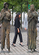 Meghan Markle & Prince Harry At Famine Memorial2