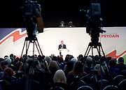 Conservative Spring Forum at Welsh Conference, Cardiff, Wales, Great Britain <br /> 17th March 2017 <br /> <br /> <br /> <br /> <br /> The Rt Hon Liam Fox MP <br /> Secretary of State for International Trade <br /> <br />  <br /> <br /> Photograph by Elliott Franks <br /> Image licensed to Elliott Franks Photography Services