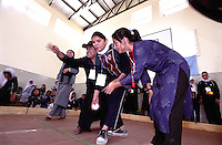 SPECIAL OLYMPICS AFGHANISTAN..KABUL 24 August 2005..Bagh-e-Zanana, women games