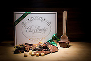 Chez Emily handmade chocolates from a shoot I did with Simply Zesty for Country Crest Foods