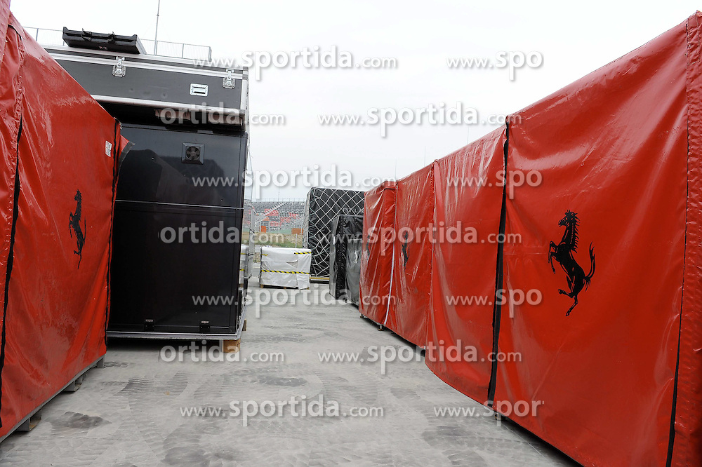 13.10.2011, Korea-International-Circuit, Yeongam, KOR, F1, Großer Preis von Südkorea, Yeongam, im Bild. Korean F1 Grand Prix Impressions - Freight Container// during the Formula One Championships 2011 Large price of Korea held at the Korea-International-Circuit, 2011-10-13  EXPA Pictures © 2011, PhotoCredit: EXPA/ nph/  Dieter Mathis        ****** only for AUT, POL & SLO ******