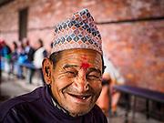 04 MARCH 2017 - KATHMANDU, NEPAL: An elderly resident of the Social Welfare Centre, Elderly's Home in Kathmandu. It is the only public nursing home in Nepal.      PHOTO BY JACK KURTZ