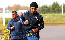Chris Vui of Bristol Rugby arrives at Castle Park for the fixture against Doncaster Knights - Mandatory by-line: Robbie Stephenson/JMP - 02/12/2017 - RUGBY - Castle Park - Doncaster, England - Doncaster Knights v Bristol Rugby - Greene King IPA Championship