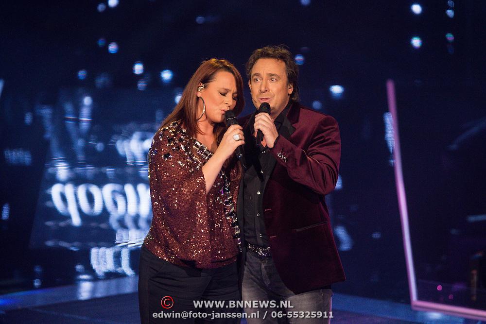 NLD/Hilversum/20131220 - Finale The Voice of Holland 2013, Trijntje Oosterhuis en Marco Borsato