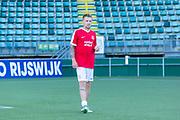 ADO Den Haag stadion, Den Haag. Voetbalwedstrijd van Creators FC tegen War Child and Friends. Op de foto: Matsoe Matsoe