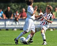 30-08-2008 VOETBAL:AUDAX JEUGDTOERNOOI 2008:TILBURG<br /> Dyral den Exter in duel met PSV<br /> Foto: Geert van Erven