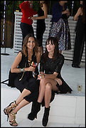 ASTRID MUNOZ; ANNABELLE NEILSON, 2014 Serpentine's summer party sponsored by Brioni.with a pavilion designed this year by Chilean architect Smiljan Radic  Kensington Gdns. London. 1July 2014