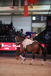 Kaiser, Daniel, Flash Back<br /> Leipzig - Partner Pferd<br /> Weltcup Voltigieren <br /> © www.sportfotos-lafrentz.de/Stefan Lafrentz