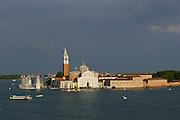 Venice, Italy. 14th Architecture Biennale 2014, &quot;fundamentals&quot;.<br /> Fondazione Giorgio Cini, Isola San Giorgio Maggiore. Heinz Mack, &quot;The Sky Over Nine Columns&quot;.