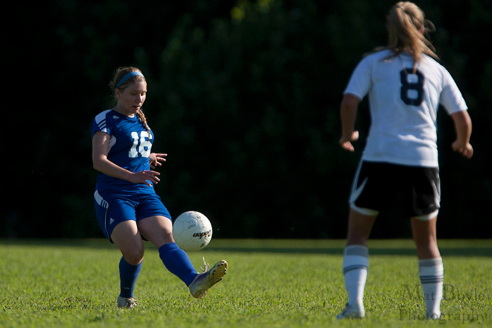Camden County College hosts Gloucester County College in a women's soccer match on Tuesday August 30, 2011.
