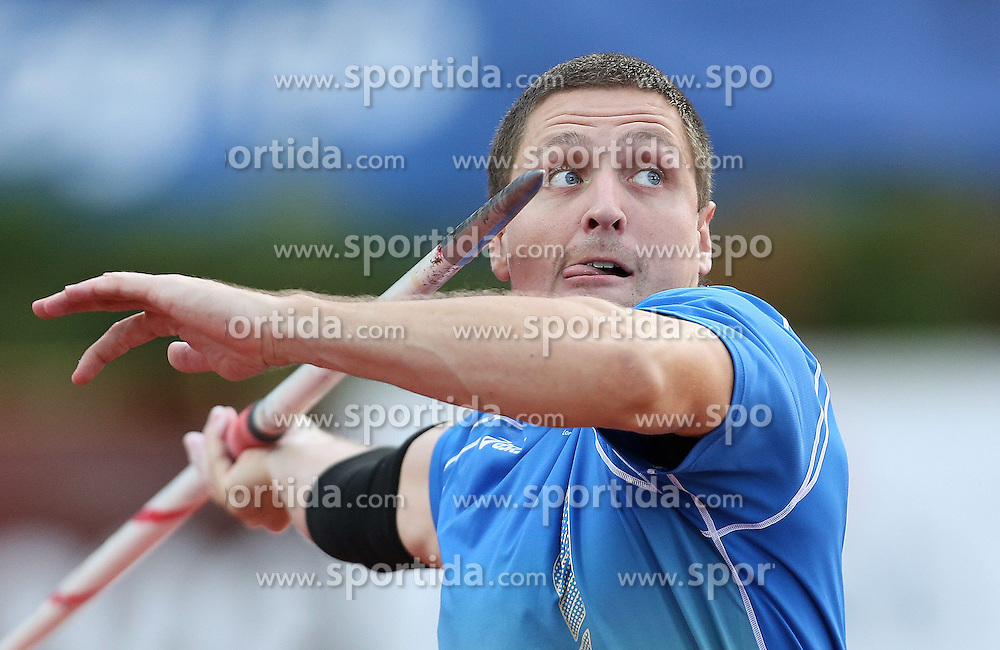 03.09.2013, Mladost Stadion, Zagreb, CRO, IAAF World Challenge, Boris Hanzekovic memorial 2013, im Bild KRANJC Matija Javelin Throw // during Boris Hanzekovic memorial 2013 of IAAF world challenge at Mladost Stadium in Zagreb, Croatia on 2013/09/03. EXPA Pictures &copy; 2013, PhotoCredit: EXPA/ Pixsell/ Igor Kralj<br /> <br /> ***** ATTENTION - for AUT, SLO, SUI, ITA, FRA only *****