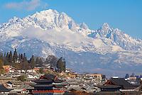 Chine. Province du Yunnan. Ville de Lijiang. Patrimoine mondial de l'UNESCO. // China. Yunnan province. City of Lijiang. UNESCO World Heritage.