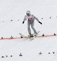 01.01.2012, Olympia Skistadion, GARMISCH-PARTENKIRCHEN, GER, 60. Vierschanzentournee, FIS Ski Sprung Weltcup, 1. wertungsdurchgang, im Bild Jernej DAMJAN (SLO) // Jernej DAMJAN of Slovenia during the 1st round of the 60th Four-Hills-Tournament FIS World Cup Ski Jumping at Olympia Skistadion, GARMISCH-PARTENKIRCHEN, Germany on 2012/01/01, EXPA Pictures © 2012, PhotoCredit: EXPA/ Sven Kiesewetter