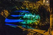 AT/x by Luke Savisky at the Waller Creek Show, Austin, Texas, November 15, 2015.