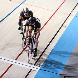 16-12-2016: Wielrennen: NK baanwielrennen: Apeldoorn  <br />Hugo Haak plaatst zich voor de kwart finale