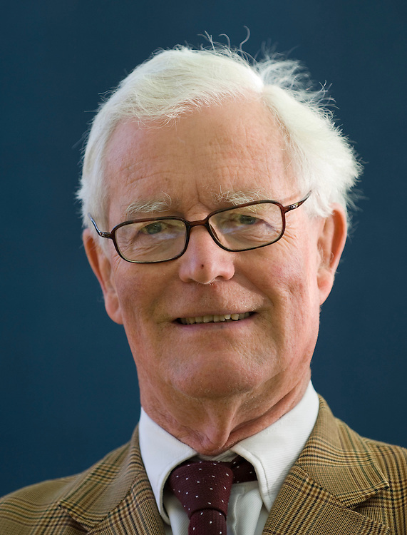 EDINBURGH, SCOTLAND - AUGUST17. Douglas Hurd  poses during a portrait session held at Edinburgh Book Festival on August 17, 2007  in Edinburgh, Scotland. (Photo by Marco Secchi/Getty Images)