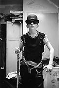 Nev as a Punk, UK, 1980s.