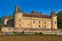 France, Saône-et-Loire (71), Rully, chateau de Rully // France, Saône-et-Loire (71), Rully castle