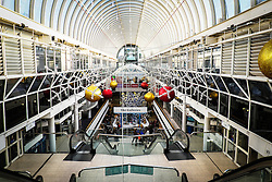 The interior of Eastgate Shopping Centre in Basildon.