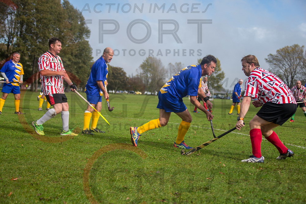 GOLDEN OLDIES FESTIVAL OF SPORT HOCKEY<br /> CANTERBURY WIZARDS<br /> 20180416<br /> KEVIN CLARKE<br /> Photo KEVIN CLARKE CMG SPORT ACTION IMAGES<br /> &copy;cmgsport2018