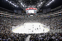 25 October 2011: Fans fill the arena during the third period of the Los Angeles Kings 0-3 loss to the New Jersey Devils during a sold out game at the Staples Center arena in Southern California.