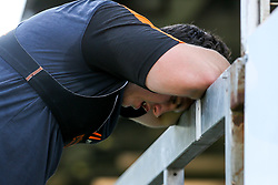 Joe Morris of Worcester Warriors in action, as the team return to training in small socially distant groups after the Coronavirus lockdown restrictions were eased - Mandatory by-line: Robbie Stephenson/JMP - 23/06/2020 - RUGBY - Sixways Stadium - Worcester, England - Worcester Warriors Training