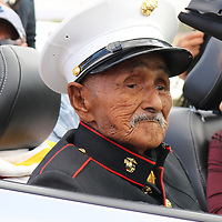 Navajo Code talker William Brown is seen in this courtesy  photo taken Aug. 25 in Chinle, Arizona. Brown died Monday.