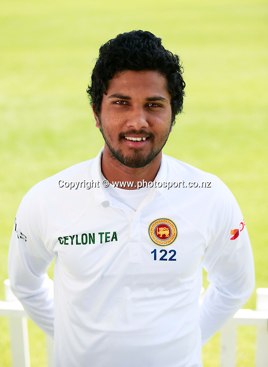 Dinesh Chandimal, Sri Lanka Test Squad Headshots at Hagley Oval, Christchurch. 24 December 2014 Photo: Joseph Johnson / www.photosport.co.nz